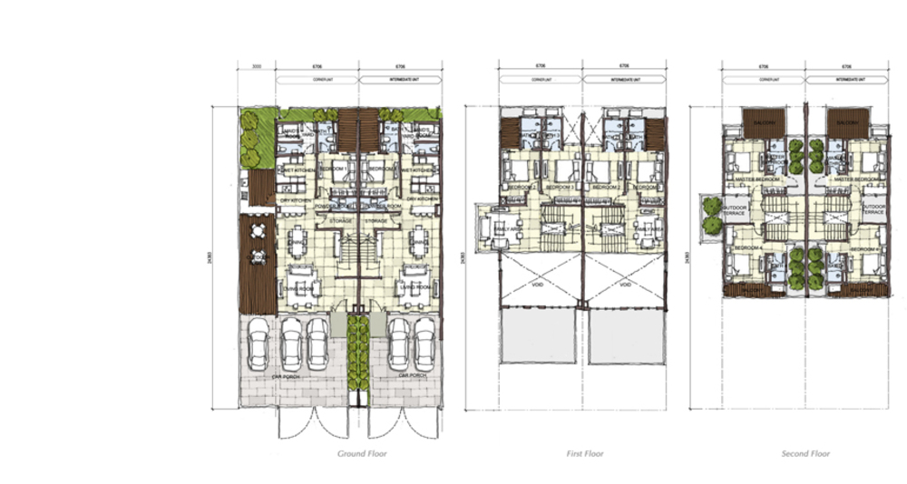 Setia Eco Cascadia Ebony Floor Plan