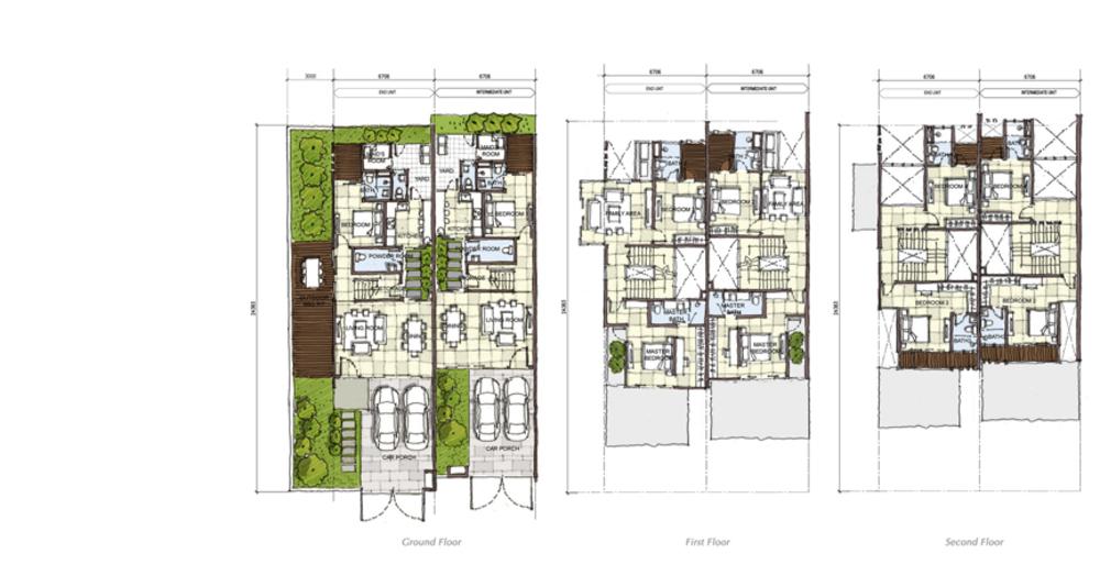 Setia Eco Cascadia Elm Floor Plan
