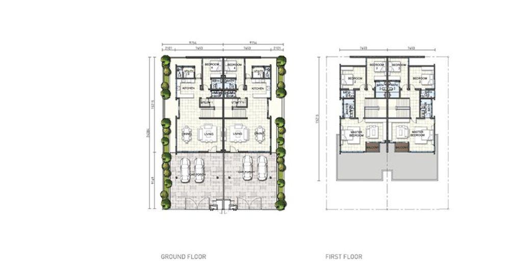 Setia Eco Cascadia Claremont Floor Plan