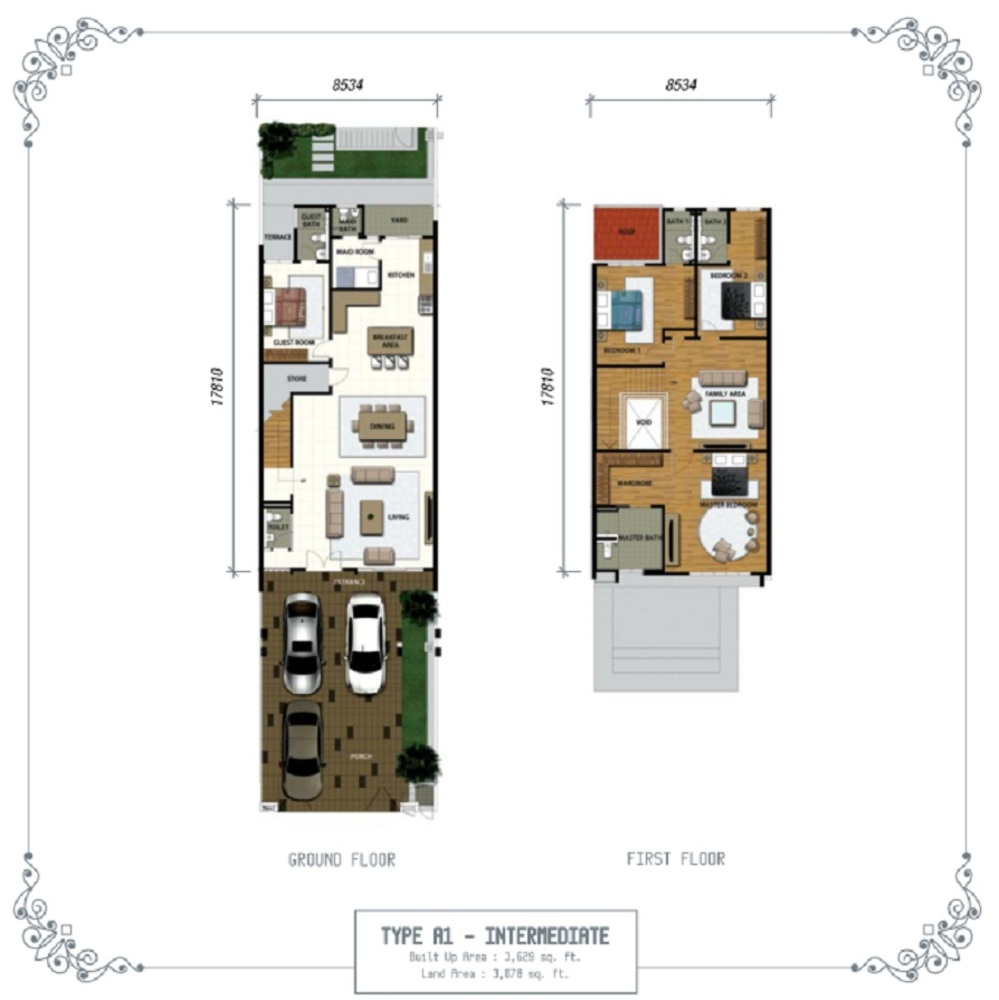 Temasya Sinar Phase 1 - Type A1 Floor Plan