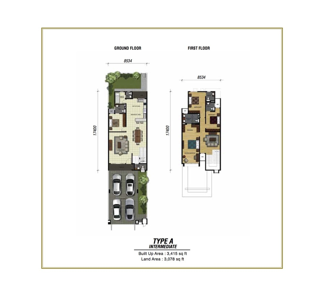 Temasya Sinar Phase 2 - Type A Floor Plan