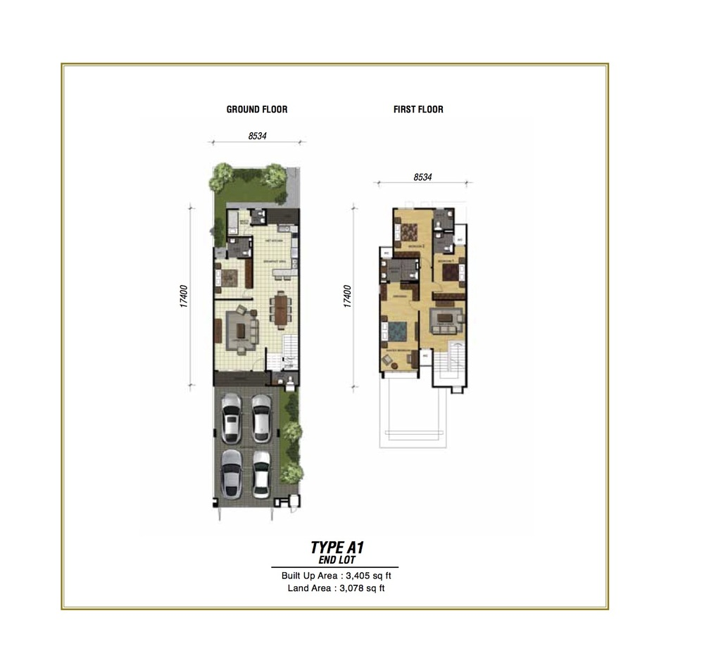 Temasya Sinar Phase 2 - Type A1 Floor Plan