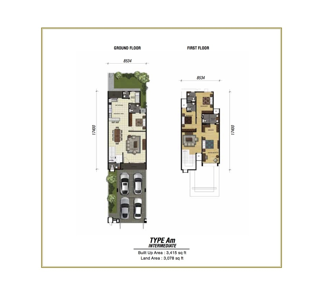 Temasya Sinar Phase 2 - Type Am Floor Plan