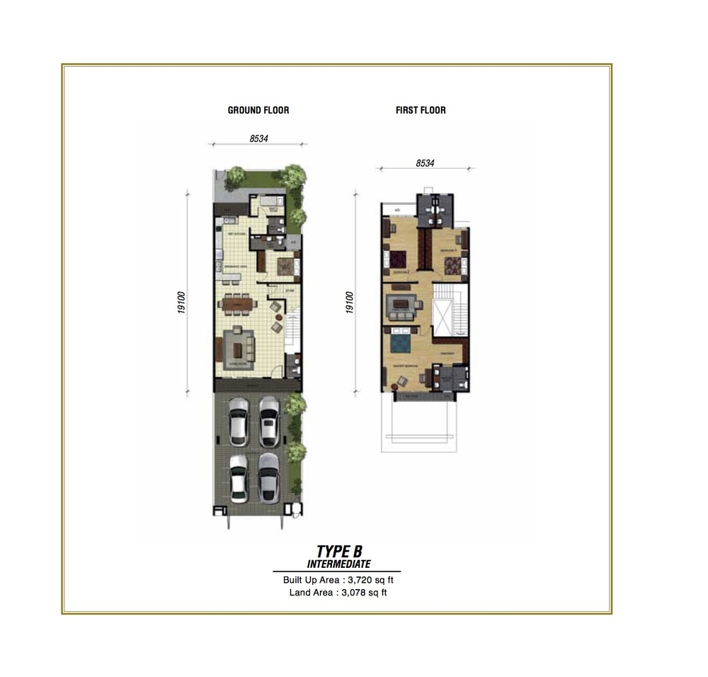 Temasya Sinar Phase 2 - Type B Floor Plan