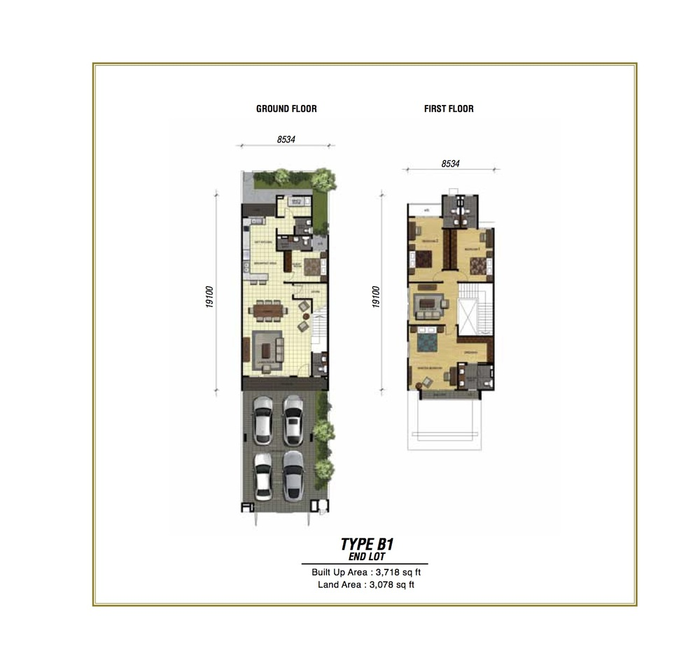 Temasya Sinar Phase 2 - Type B1 Floor Plan