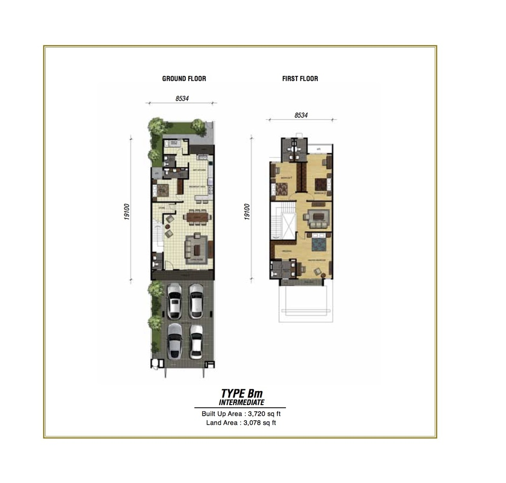 Temasya Sinar Phase 2 - Type Bm Floor Plan