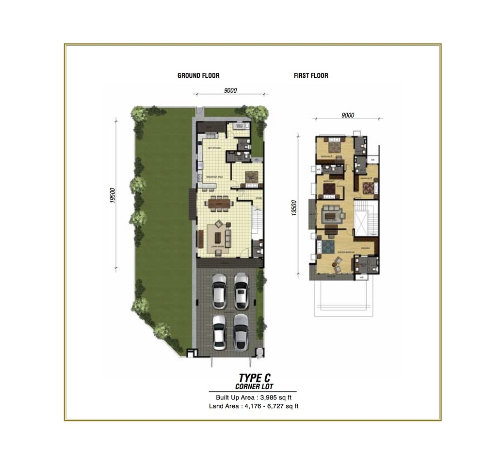 Temasya Sinar Phase 2 - Type C Floor Plan