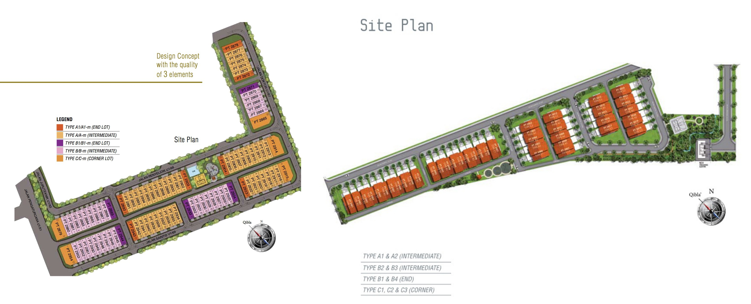 Site Plan of Temasya Sinar