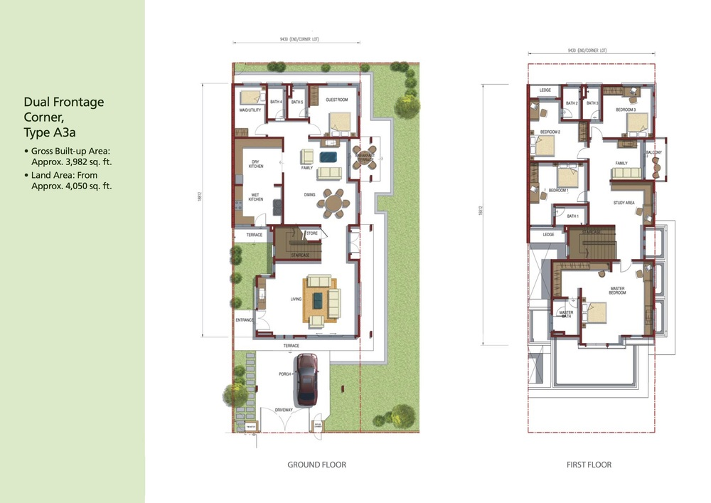 Opulenia Type A3a Floor Plan