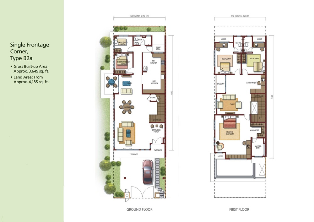 Opulenia Type B2a Floor Plan