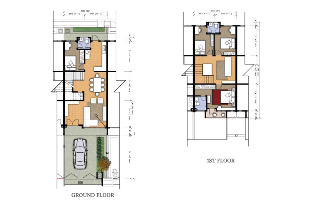 Desa Seri Vista Typical Unit Floor Plan
