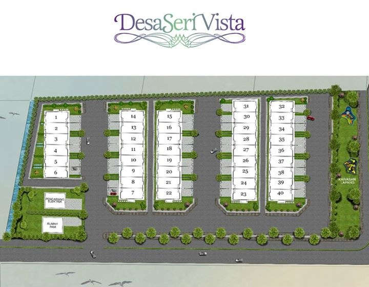 Site Plan of Desa Seri Vista