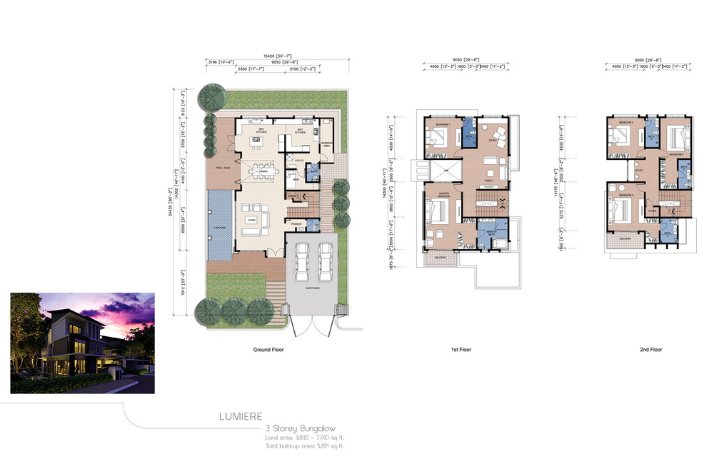 The Enclave Phase 1 - Lumiere Floor Plan