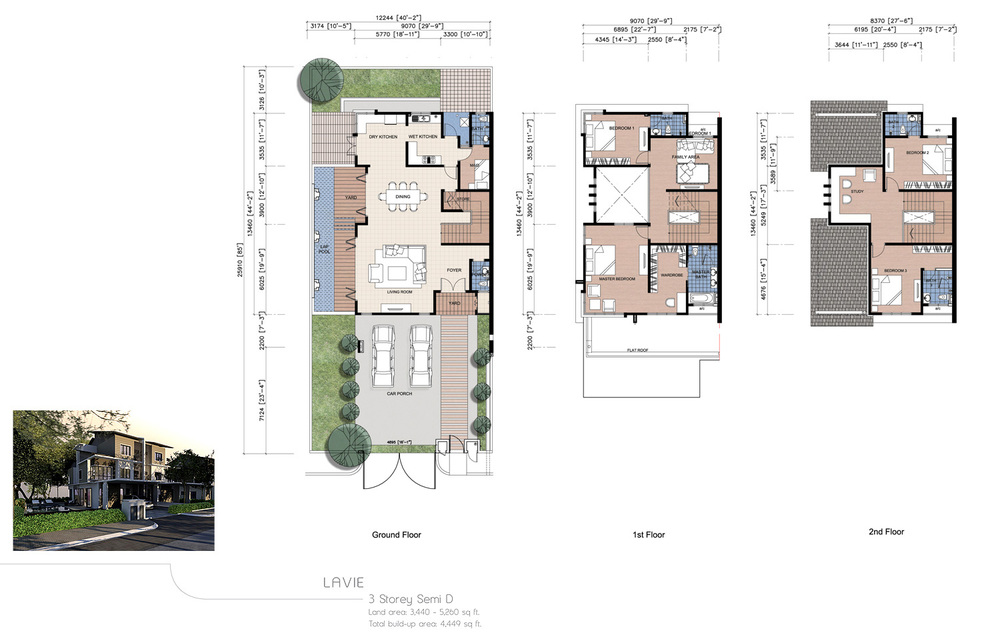 The Enclave Phase 1 - Lavie Floor Plan