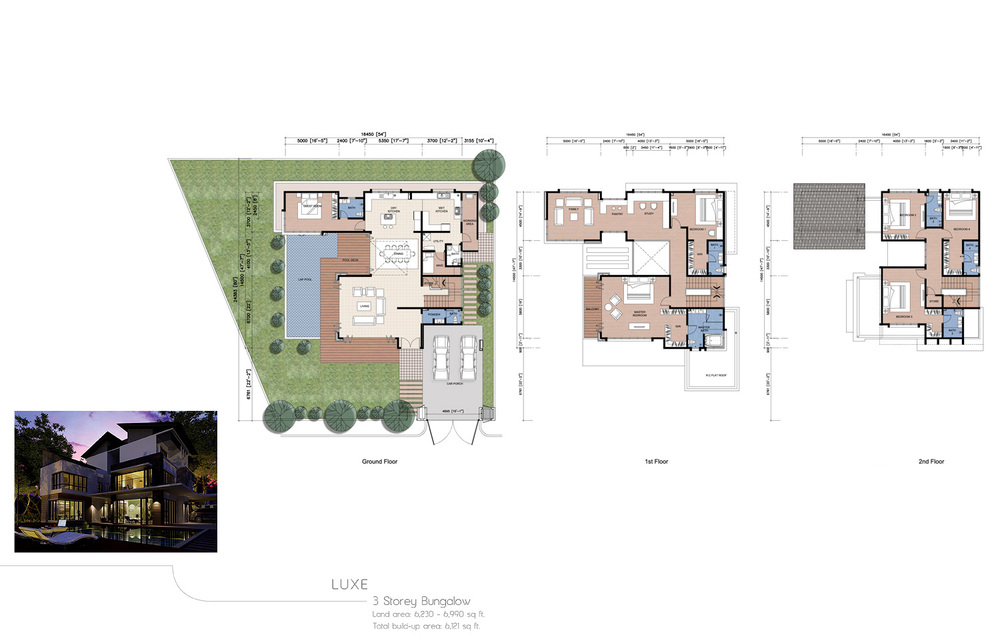 The Enclave Phase 1 - Luxe Floor Plan
