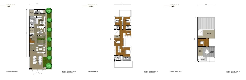 The Enclave Phase 2 - Haven Floor Plan
