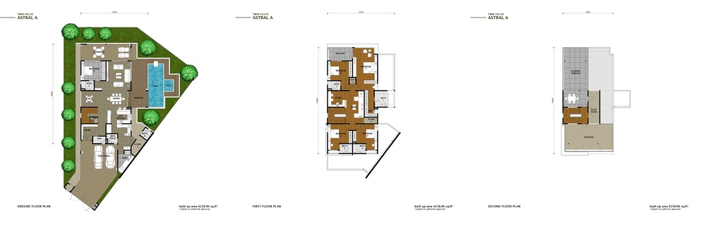 The Enclave Phase 2 - Astral A Floor Plan