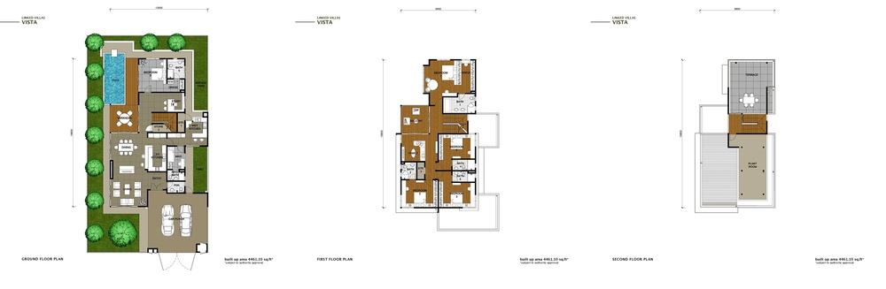 The Enclave Phase 2 - Vista Floor Plan