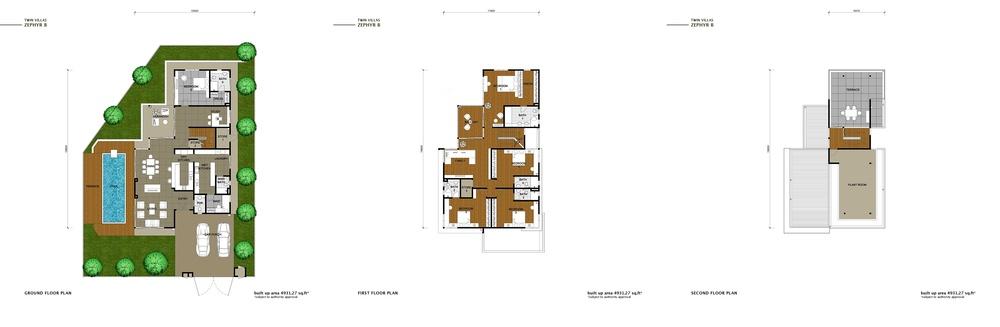 The Enclave Phase 2 - Zephyr B Floor Plan