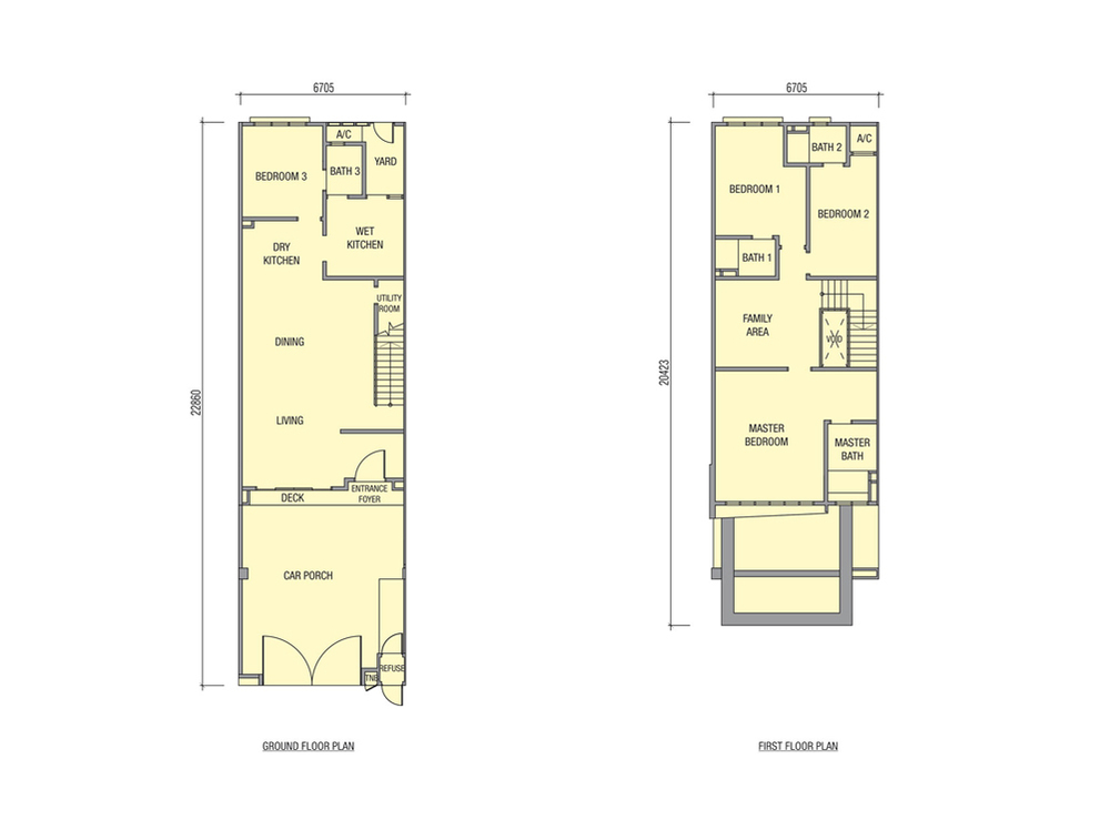 Avens Typical Unit Floor Plan