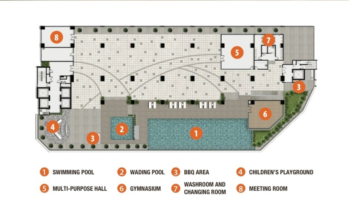 Master Plan of Danau Kota Suite Apartments