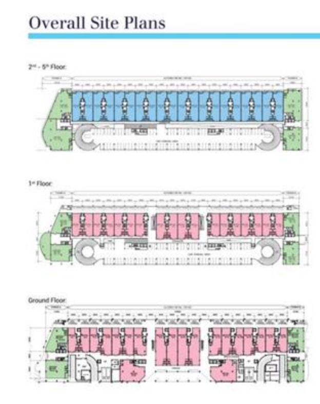 Site Plan of The Landmark
