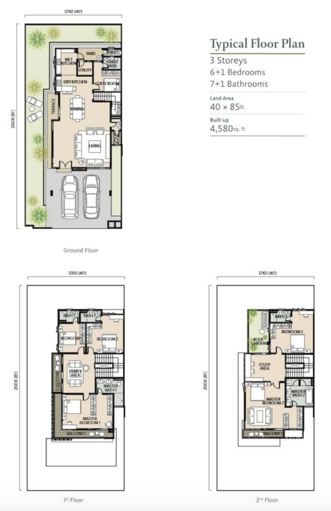 Alamaia Homes Standard Floor Plan
