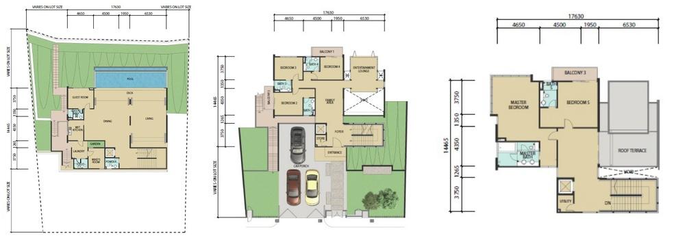 Bayu 23 Type A Floor Plan
