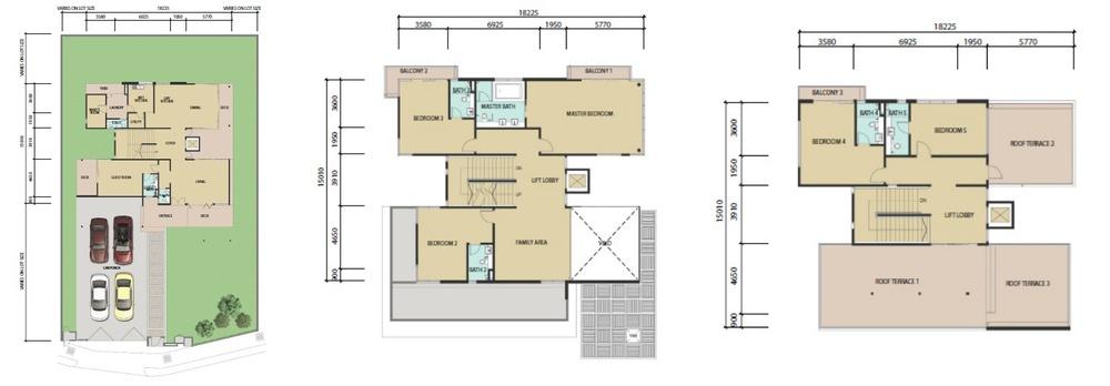 Bayu 23 Type B Floor Plan