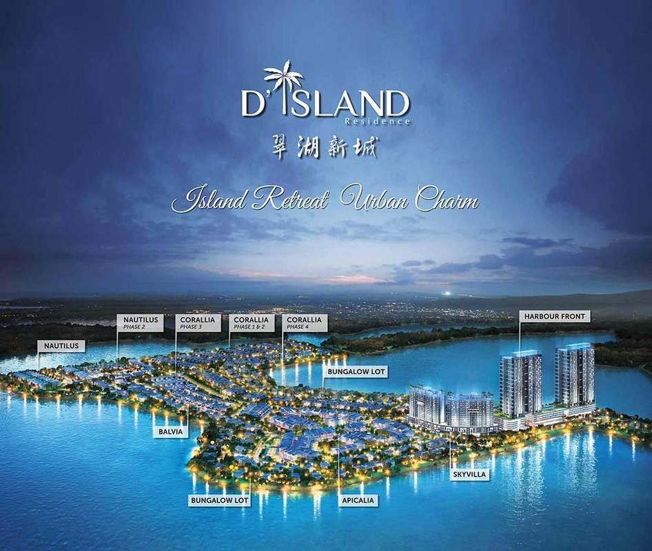 Master Plan of Corallia @ D'Island