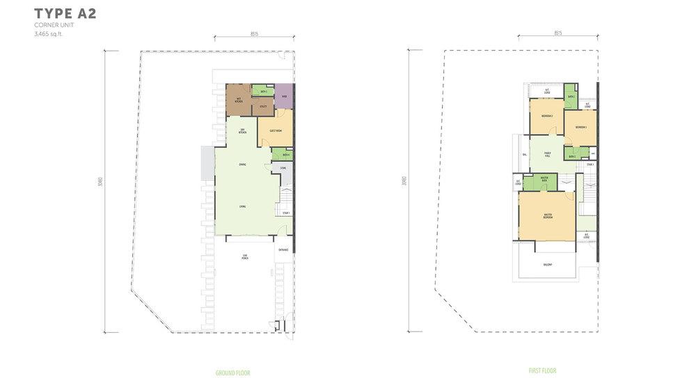 Nautilus @ D'Island Phase 2 - Type A2 Floor Plan