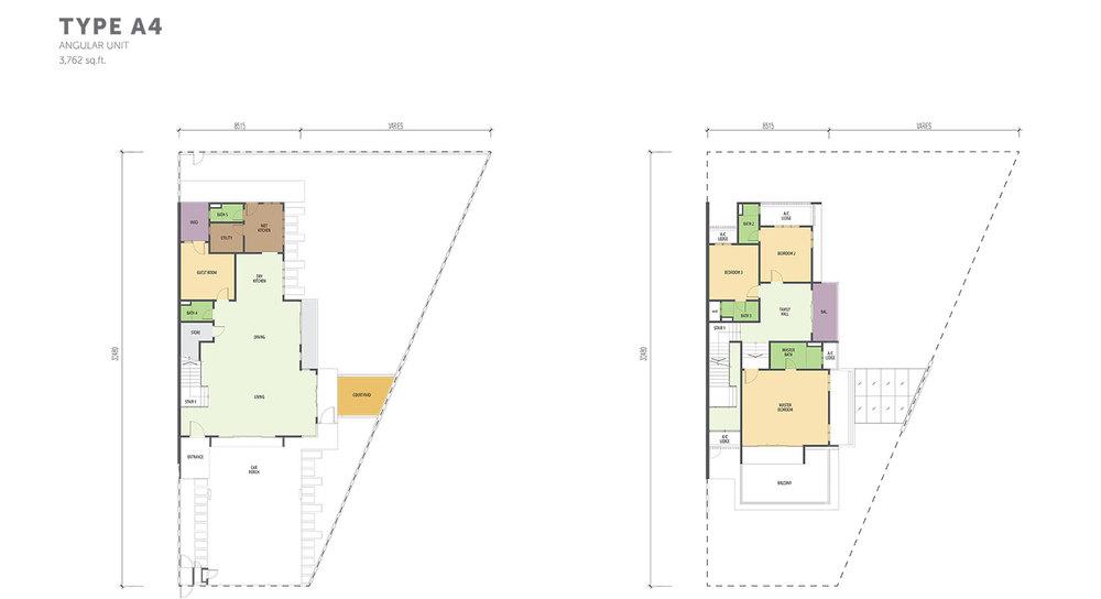 Nautilus @ D'Island Phase 2 - Type A4 Floor Plan