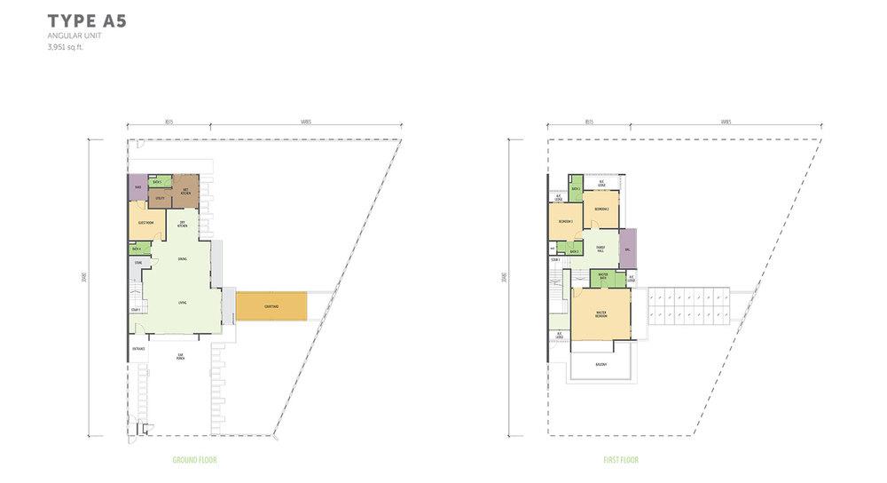 Nautilus @ D'Island Phase 2 - Type A5 Floor Plan