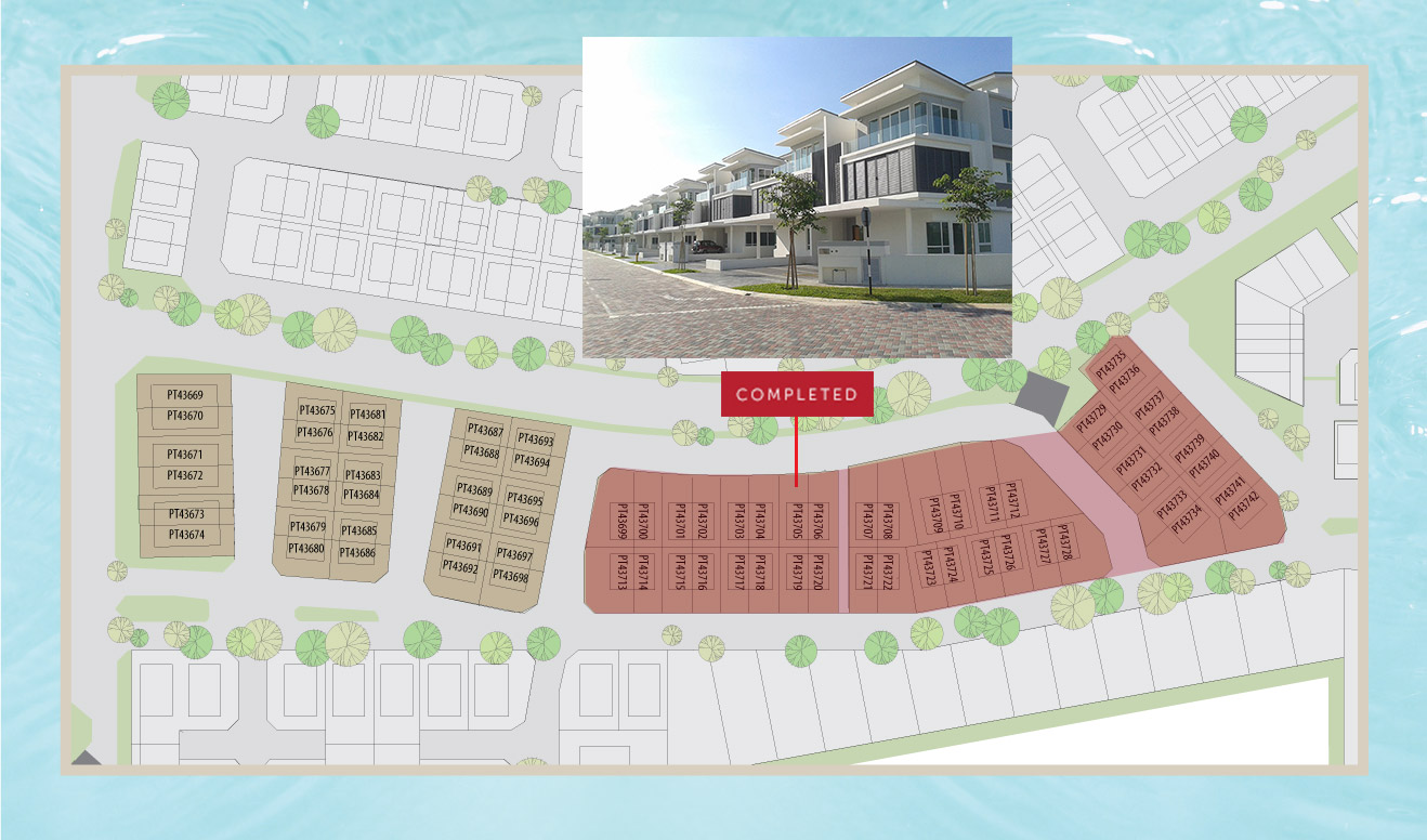 Site Plan of Balvia @ D'Island