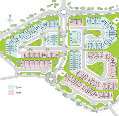 Site Plan of Apicalia @ D'Island