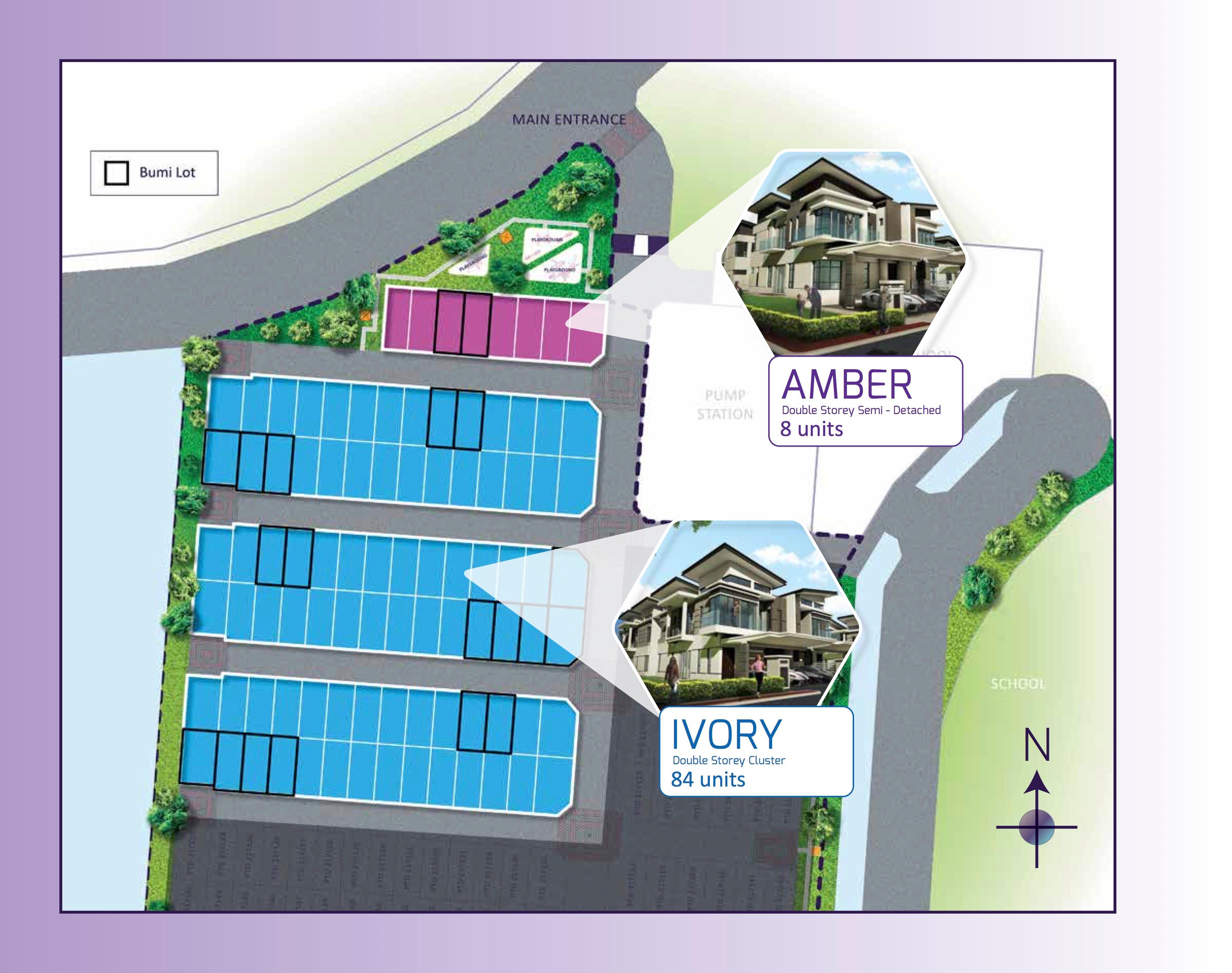 Site Plan of Opal Residenz
