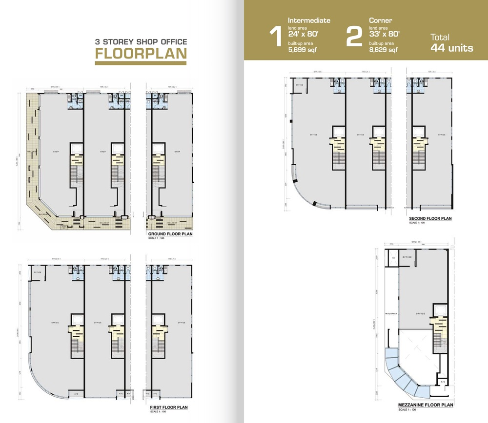 Zircon Standard Unit Floor Plan