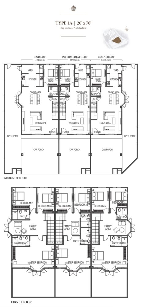 Eco Meadows Type 1A Floor Plan