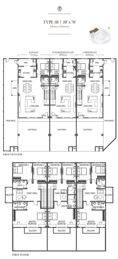 Eco Meadows Type 1B Floor Plan