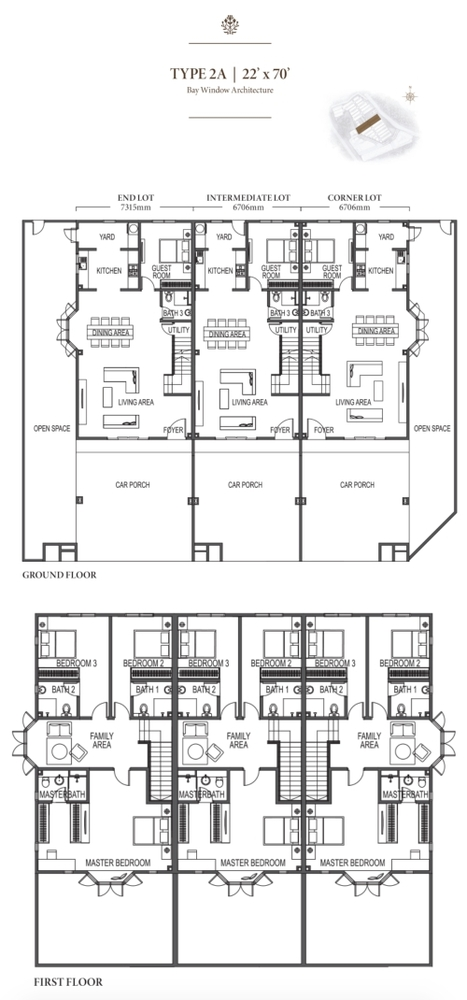 Eco Meadows Type 2A Floor Plan