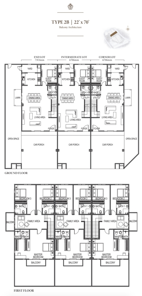 Eco Meadows Type 2B Floor Plan