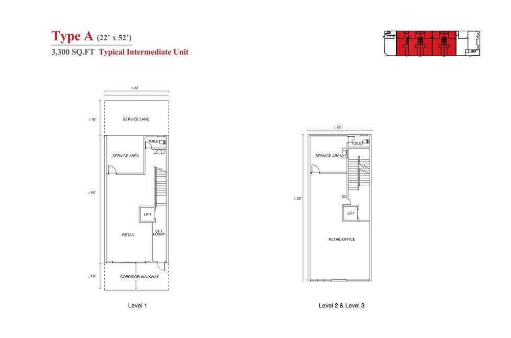 Aspen Vision City Vervea - Type A Floor Plan