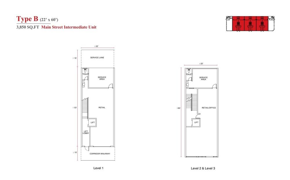 Aspen Vision City Vervea - Type B Floor Plan