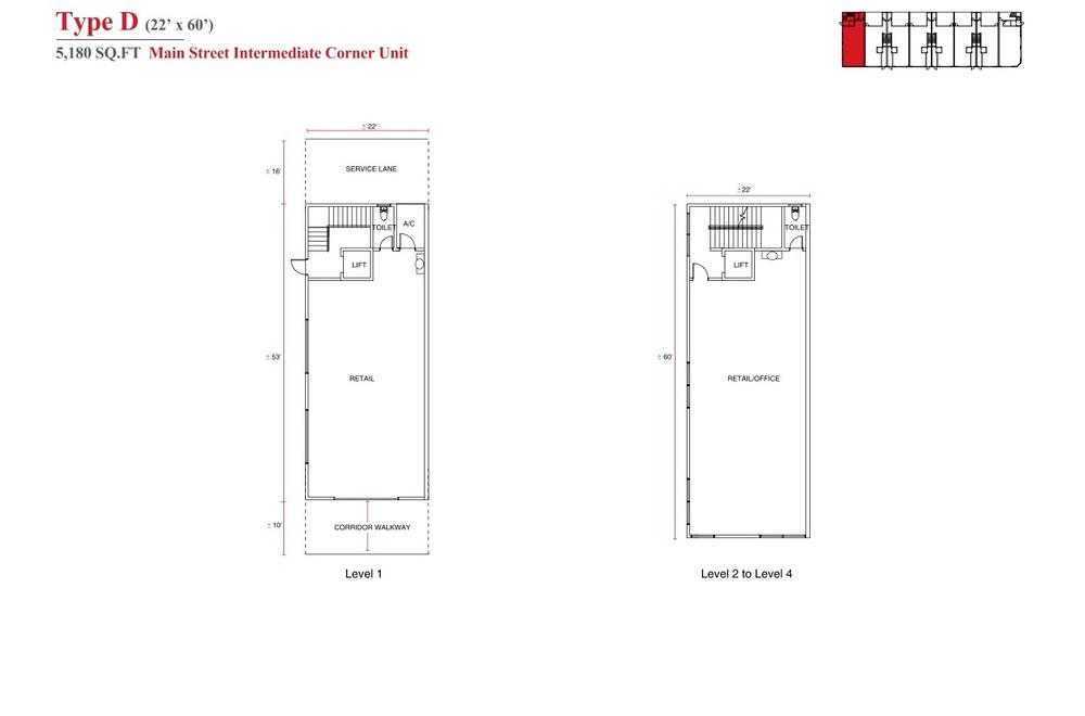 Aspen Vision City Vervea - Type D Floor Plan