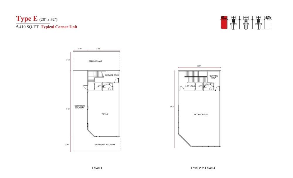 Aspen Vision City Vervea - Type E Floor Plan