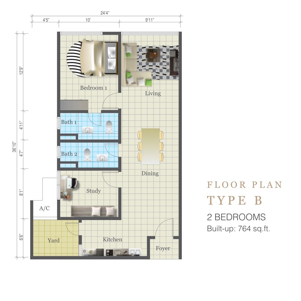 Review for d 39 summit residences skudai propsocial for Summit homes floor plans