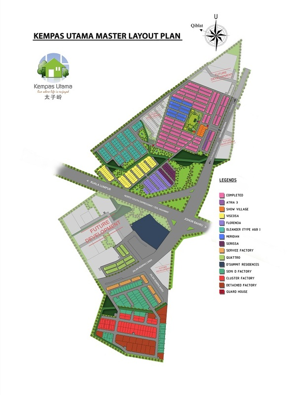 Master Plan of Atria 3