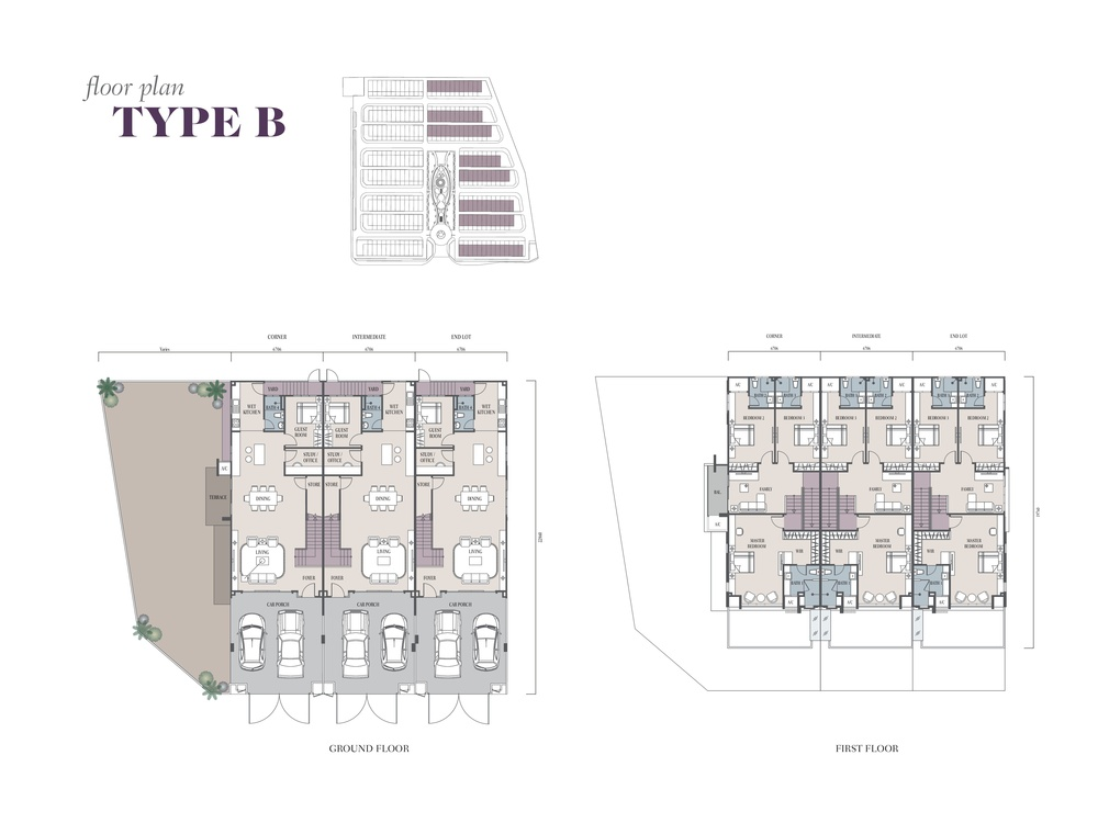 Semanja Type B Floor Plan