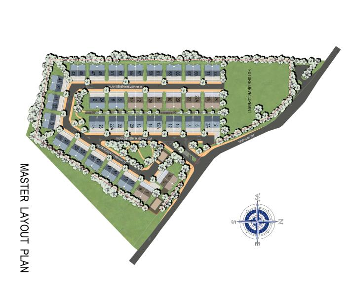 Site Plan of GreensVille