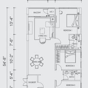 Altus soho shop type a floorplan property propsocial small